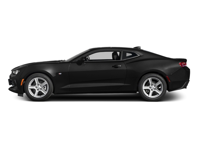 Black 2016 Chevrolet Camaro Pictures Camaro Coupe 2D 2LT V6 photos side view