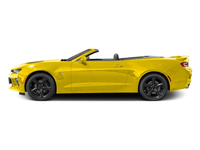 Bright Yellow 2016 Chevrolet Camaro Pictures Camaro Convertible 2D 2SS V8 photos side view