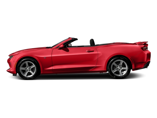 Red Hot 2016 Chevrolet Camaro Pictures Camaro Convertible 2D 2LT V6 photos side view
