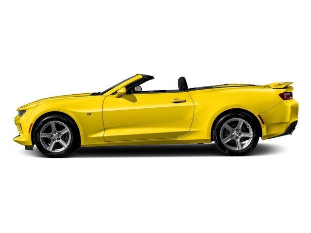 Bright Yellow 2016 Chevrolet Camaro Pictures Camaro Convertible 2D 2LT V6 photos side view