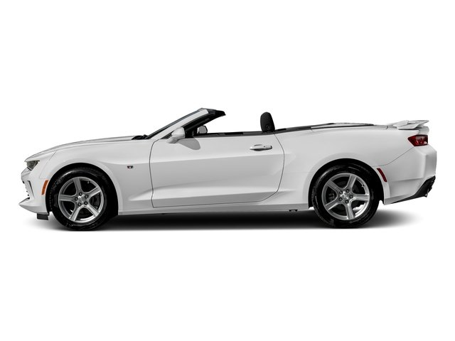 Summit White 2016 Chevrolet Camaro Pictures Camaro Convertible 2D 2LT V6 photos side view