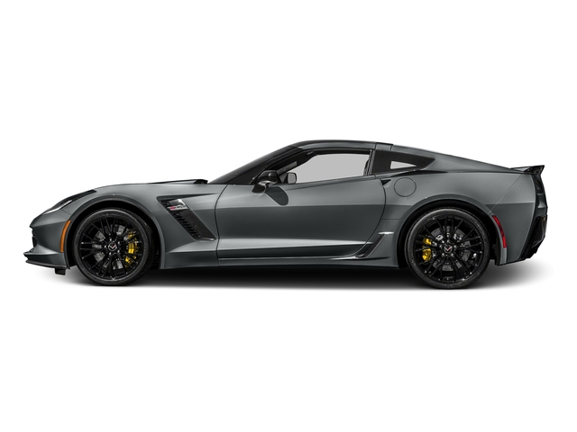 Shark Gray Metallic 2016 Chevrolet Corvette Pictures Corvette Coupe 2D Z06 2LZ V8 photos side view