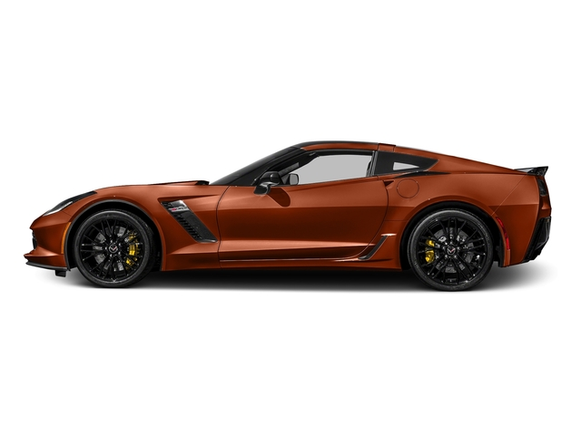 Daytona Sunrise Orange Metallic 2016 Chevrolet Corvette Pictures Corvette Coupe 2D Z06 2LZ V8 photos side view