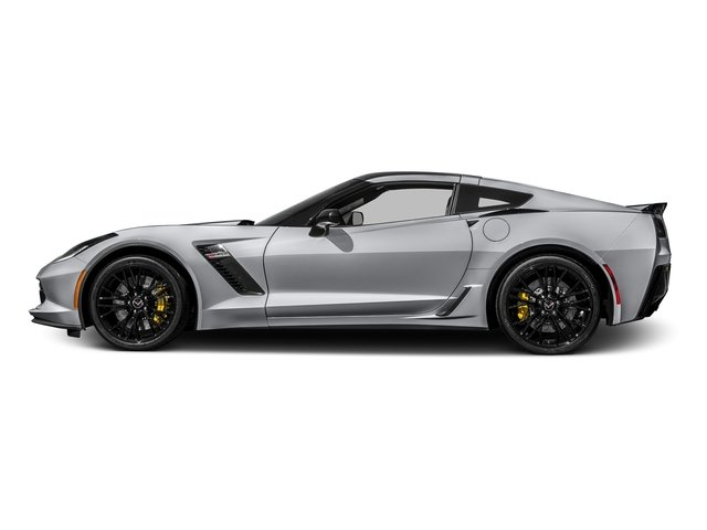 Blade Silver Metallic 2016 Chevrolet Corvette Pictures Corvette Coupe 2D Z06 2LZ V8 photos side view