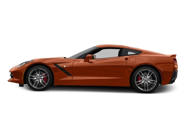 Daytona Sunrise Orange Metallic 2016 Chevrolet Corvette Pictures Corvette Coupe 2D Z51 3LT V8 photos side view