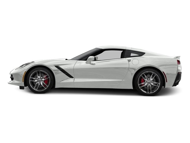 Arctic White 2016 Chevrolet Corvette Pictures Corvette Coupe 2D Z51 3LT V8 photos side view