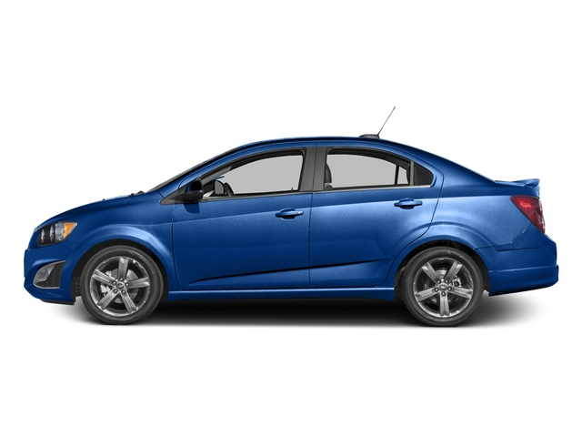 Kinetic Blue Metallic 2016 Chevrolet Sonic Pictures Sonic Sedan 4D RS I4 photos side view