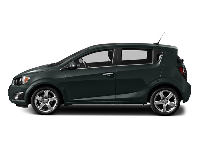 Nightfall Gray Metallic 2016 Chevrolet Sonic Pictures Sonic Hatchback 5D LT I4 photos side view