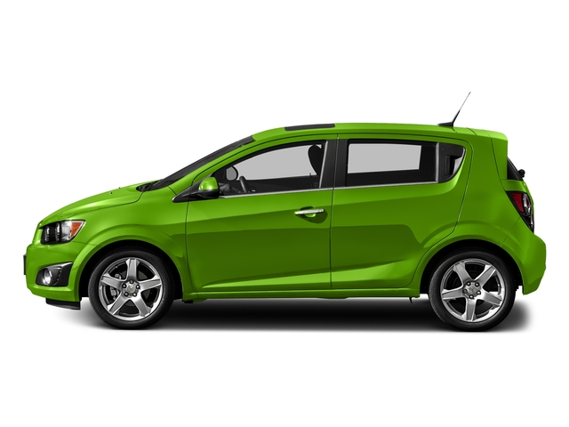 Dragon Green Metallic 2016 Chevrolet Sonic Pictures Sonic Hatchback 5D LT I4 photos side view