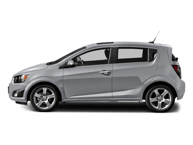 Silver Ice Metallic 2016 Chevrolet Sonic Pictures Sonic Hatchback 5D LT I4 photos side view