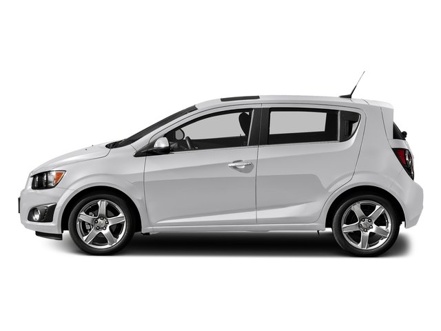 Summit White 2016 Chevrolet Sonic Pictures Sonic Hatchback 5D LT I4 photos side view