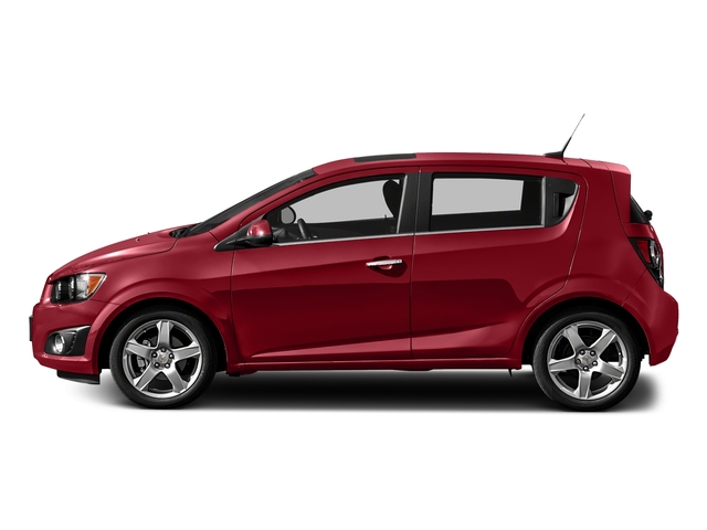 Crystal Red Tintcoat 2016 Chevrolet Sonic Pictures Sonic Hatchback 5D LT I4 photos side view