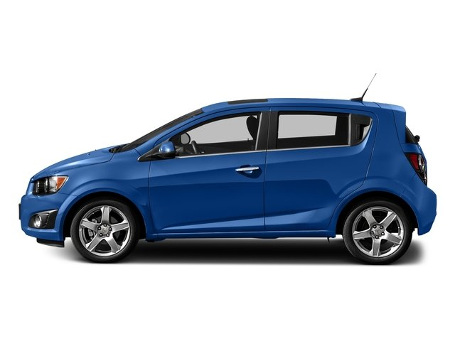 Kinetic Blue Metallic 2016 Chevrolet Sonic Pictures Sonic Hatchback 5D LT I4 photos side view