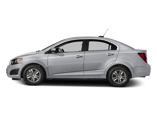 Silver Ice Metallic 2016 Chevrolet Sonic Pictures Sonic Sedan 4D LS I4 photos side view