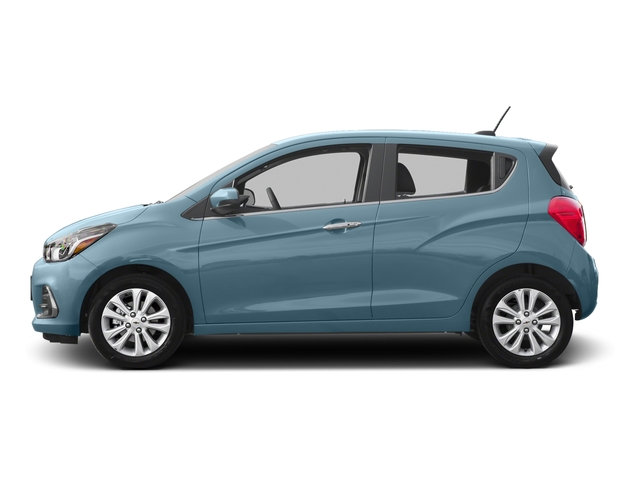 Electric Blue 2016 Chevrolet Spark Pictures Spark Hatchback 5D 2LT I4 photos side view