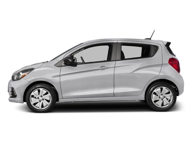 Silver Ice 2016 Chevrolet Spark Pictures Spark Hatchback 5D LS I4 photos side view