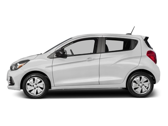 Summit White 2016 Chevrolet Spark Pictures Spark Hatchback 5D LS I4 photos side view
