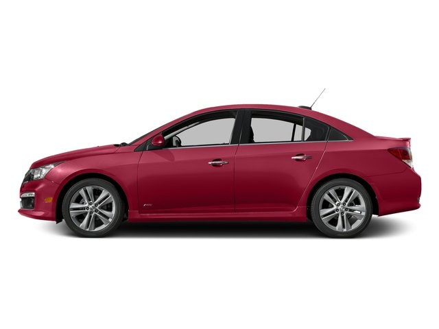 Siren Red Tintcoat 2016 Chevrolet Cruze Limited Pictures Cruze Limited Sedan 4D LTZ I4 Turbo photos side view