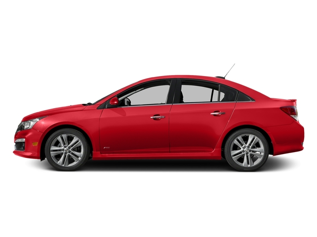 Red Hot 2016 Chevrolet Cruze Limited Pictures Cruze Limited Sedan 4D LTZ I4 Turbo photos side view