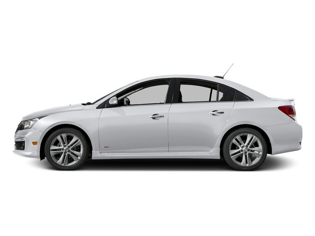 Silver Ice Metallic 2016 Chevrolet Cruze Limited Pictures Cruze Limited Sedan 4D LTZ I4 Turbo photos side view