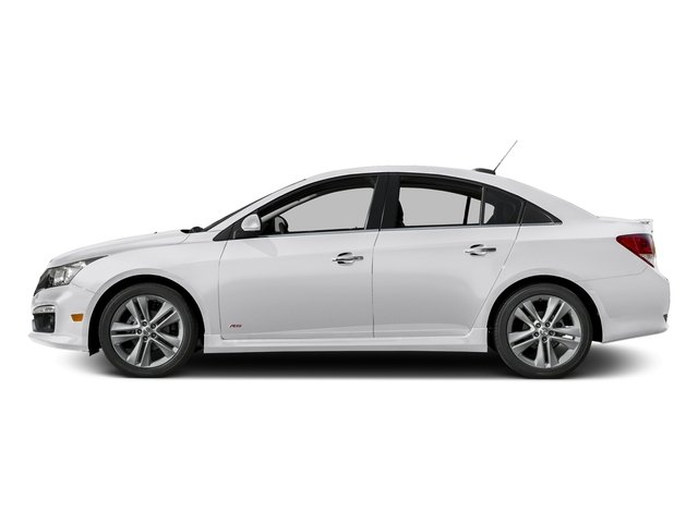 Summit White 2016 Chevrolet Cruze Limited Pictures Cruze Limited Sedan 4D LTZ I4 Turbo photos side view