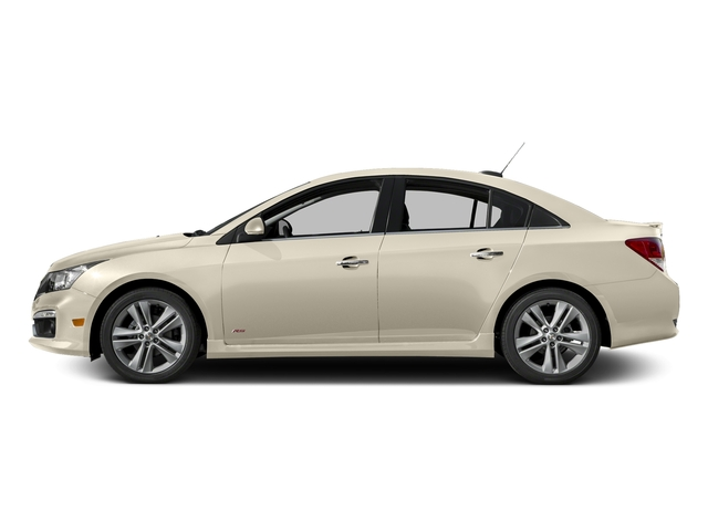 Champagne Silver Metallic 2016 Chevrolet Cruze Limited Pictures Cruze Limited Sedan 4D LTZ I4 Turbo photos side view