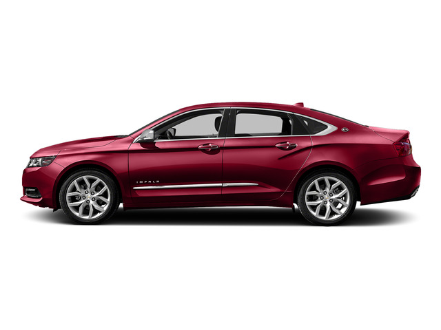 Siren Red Tintcoat 2016 Chevrolet Impala Pictures Impala Sedan 4D LTZ V6 photos side view