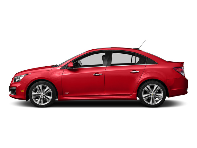Red Hot 2016 Chevrolet Cruze Limited Pictures Cruze Limited Sedan 4D 2LT I4 Turbo photos side view