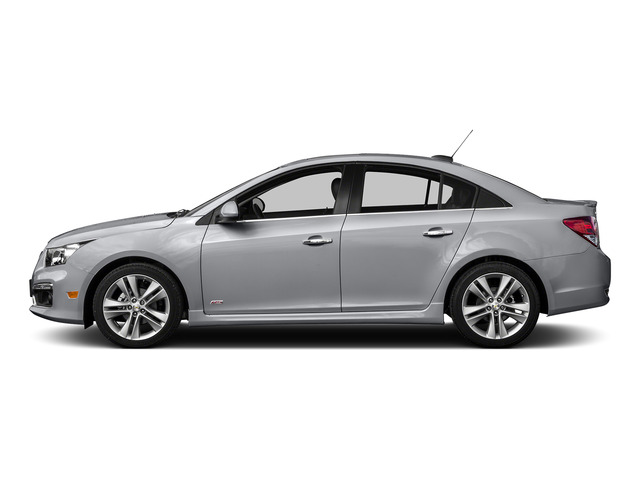 Silver Ice Metallic 2016 Chevrolet Cruze Limited Pictures Cruze Limited Sedan 4D 2LT I4 Turbo photos side view