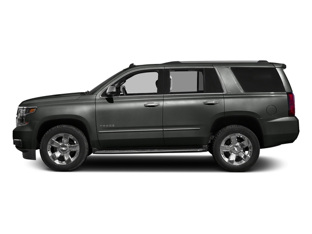 Slate Grey Metallic 2016 Chevrolet Tahoe Pictures Tahoe Utility 4D LTZ 4WD V8 photos side view