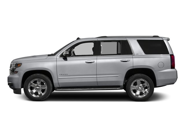 Silver Ice Metallic 2016 Chevrolet Tahoe Pictures Tahoe Utility 4D LTZ 4WD V8 photos side view