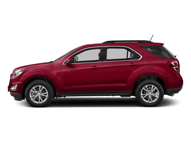 Siren Red Tintcoat 2016 Chevrolet Equinox Pictures Equinox Utility 4D LT 2WD photos side view