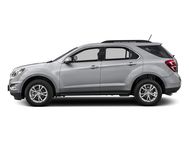 Silver Ice Metallic 2016 Chevrolet Equinox Pictures Equinox Utility 4D LT 2WD photos side view