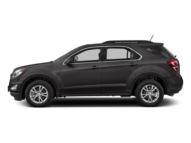 Black 2016 Chevrolet Equinox Pictures Equinox Utility 4D LT 2WD photos side view