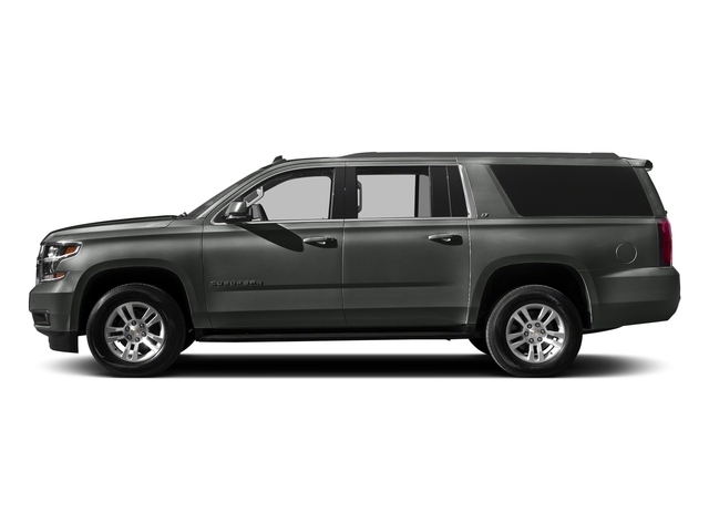 Slate Grey Metallic 2016 Chevrolet Suburban Pictures Suburban Utility 4D LT 4WD V8 photos side view