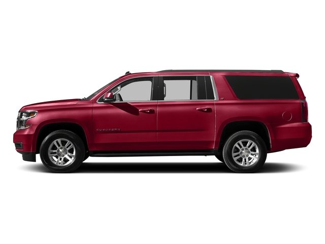 Siren Red Tintcoat 2016 Chevrolet Suburban Pictures Suburban Utility 4D LT 4WD V8 photos side view