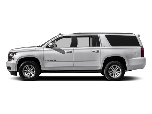 Summit White 2016 Chevrolet Suburban Pictures Suburban Utility 4D LT 4WD V8 photos side view
