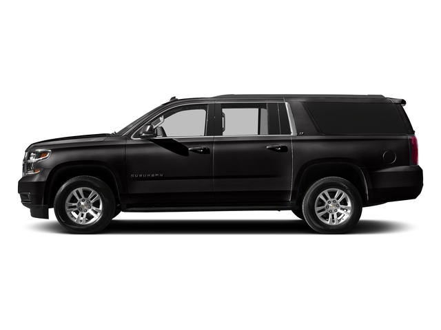Black 2016 Chevrolet Suburban Pictures Suburban Utility 4D LT 4WD V8 photos side view