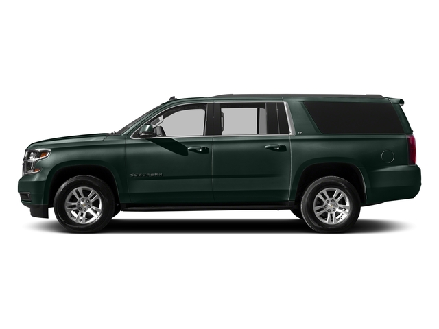 Green Envy Metallic 2016 Chevrolet Suburban Pictures Suburban Utility 4D LT 4WD V8 photos side view