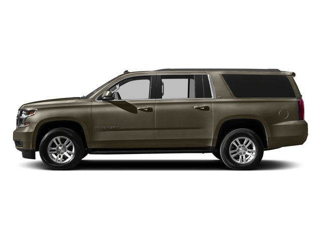 Brownstone Metallic 2016 Chevrolet Suburban Pictures Suburban Utility 4D LT 4WD V8 photos side view
