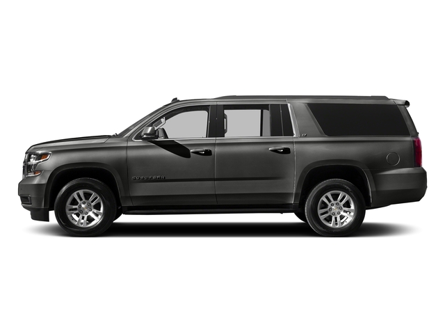 Tungsten Metallic 2016 Chevrolet Suburban Pictures Suburban Utility 4D LT 4WD V8 photos side view