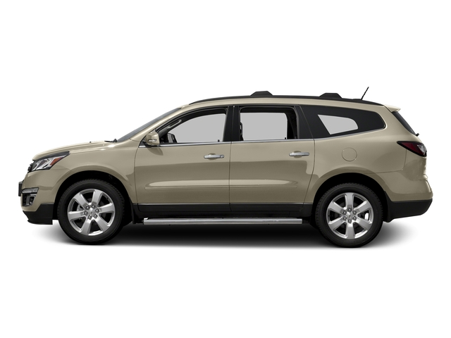 Champagne Silver Metallic 2016 Chevrolet Traverse Pictures Traverse Utility 4D LT AWD V6 photos side view
