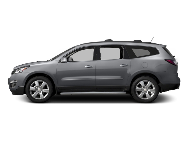 Silver Ice Metallic 2016 Chevrolet Traverse Pictures Traverse Utility 4D LTZ 2WD V6 photos side view