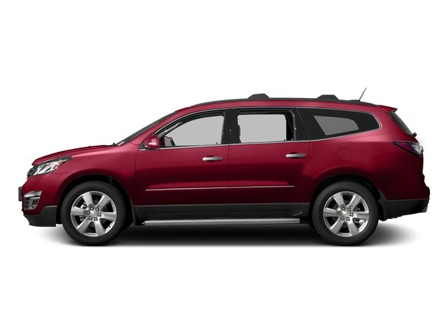 Siren Red Tintcoat 2016 Chevrolet Traverse Pictures Traverse Utility 4D LTZ 2WD V6 photos side view