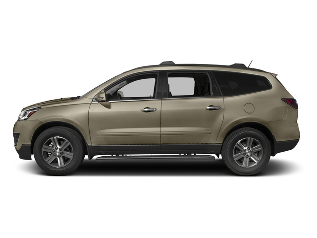 Champagne Silver Metallic 2016 Chevrolet Traverse Pictures Traverse Utility 4D 2LT AWD V6 photos side view