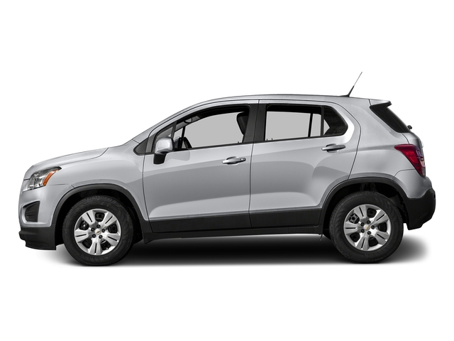 Silver Ice Metallic 2016 Chevrolet Trax Pictures Trax Utility 4D LS AWD I4 Turbo photos side view