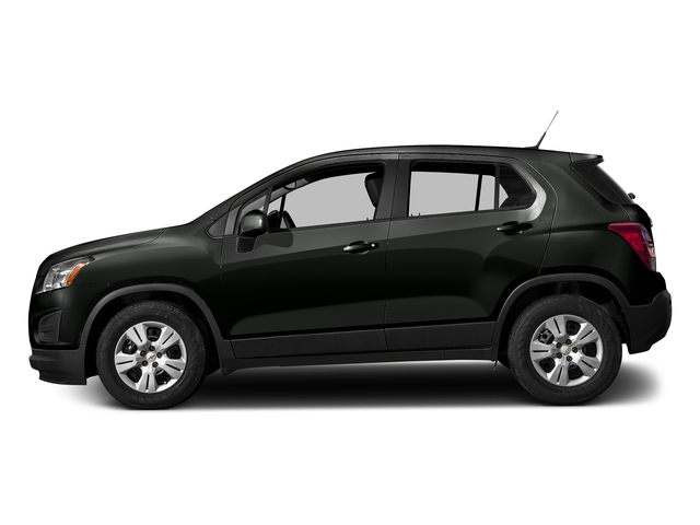 Black Granite Metallic 2016 Chevrolet Trax Pictures Trax Utility 4D LS AWD I4 Turbo photos side view