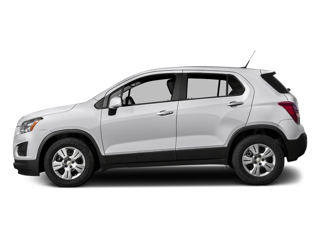 Summit White 2016 Chevrolet Trax Pictures Trax Utility 4D LS AWD I4 Turbo photos side view