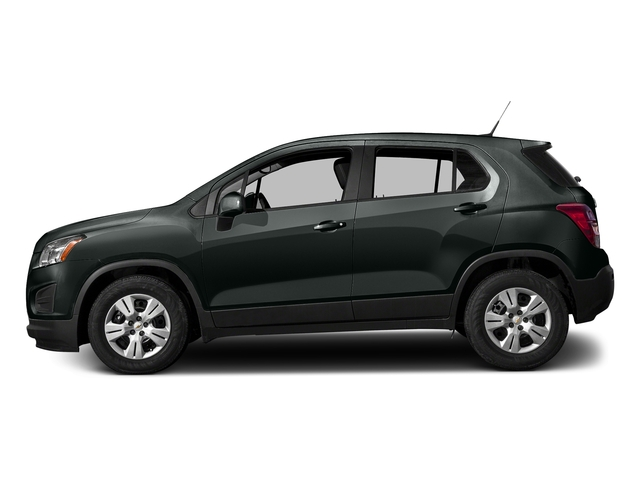 Cyber Gray Metallic 2016 Chevrolet Trax Pictures Trax Utility 4D LS AWD I4 Turbo photos side view
