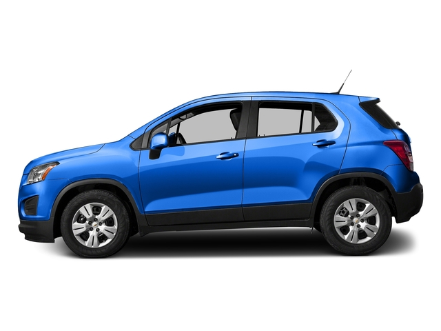 Brilliant Blue Metallic 2016 Chevrolet Trax Pictures Trax Utility 4D LS AWD I4 Turbo photos side view